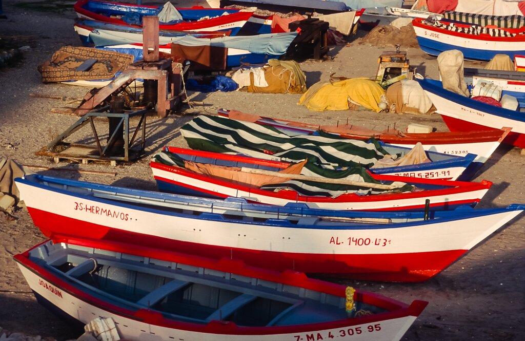Barcas de pesca